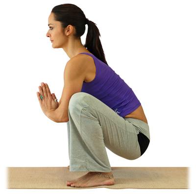 la guirnalda  asanas básicas  yogaes